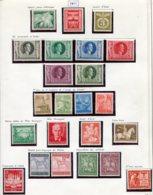 10904 ALLEMAGNE  Collection Vendue Par Page  */°  1943  B/ TB - Verzamelingen