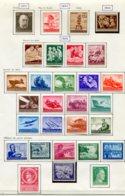 10905 ALLEMAGNE  Collection Vendue Par Page  *  1943-44  B/ TB - Verzamelingen
