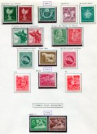 10906 ALLEMAGNE  Collection Vendue Par Page  *  1944-45  B/ TB - Verzamelingen
