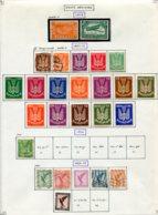 10907 ALLEMAGNE  Collection Vendue Par Page  */°  Poste Aérienne 1919-27  B/ TB - Verzamelingen