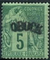 Obock (1892) N 4 * (charniere) - Unused Stamps