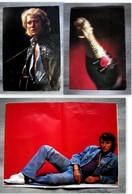 JOHNNY HALLYDAY - Magasine RIP Des Années 1970 De Photos Et Posters - Posters