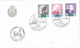 31257. Carta F.D.C. SAN MARINO 1984. Personalidades Olympic Games - FDC