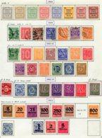 10910 ALLEMAGNE  Collection Vendue Par Page  */°  Services   1903-23  B/ TB - Verzamelingen
