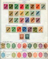 10911 ALLEMAGNE  Collection Vendue Par Page  */°  Services   1923-28  B/ TB - Verzamelingen