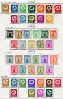 10912 ALLEMAGNE  Collection Vendue Par Page  */°  Services   1934-42  B/ TB - Verzamelingen