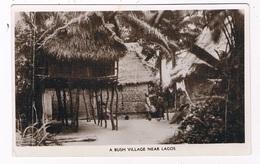 AFR-1213   GABON : A Bush Village Near LAGOs - Nigeria