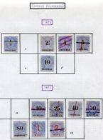 10914 ALLEMAGNE  Collection Vendue Par Page  °  Télégraphe  1873-75  B/ TB - Verzamelingen