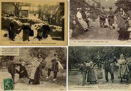 LOT  N° 377  / LOT DE 50 CPA   THEME  AU PAYS CREUSOIS - Cartes Postales