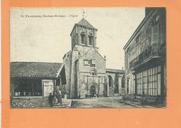 CPA - FRONTENAY ROHAN ROHAN - L'Eglise - Frontenay-Rohan-Rohan
