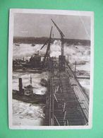 SVIRSTROY (Leningrad) 1931 Construction Of The Dam. Russian Postcard Series USSR ON CONSTRUCTION - Rusland