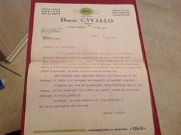 Lyon Montre Ugo Joaillerie Cavallo 1933 - France