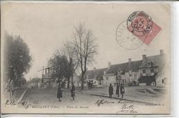 CPA - MEILLANT - PLACE DU MARCHE - Meillant