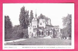 Brussegem Merchtem Château De Wolvendaal Au Baron Léon De Viron éd. C. Baune A59 Imp. L. Van Der Aa CPA Non Circ. - Merchtem