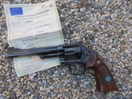 TRES BEAU REVOLVER SMITH ET WESSON 357 NEUTRALISATION EUROPE - Decorative Weapons