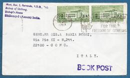 1969 INDIA SHILLONG TO ITALY - India