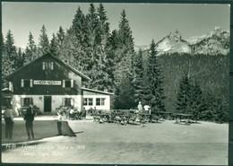 CARTOLINA - BOLZANO - CV1269 TIRES  Rifugio Nigra, Niger Hütte, FG, Viaggiata 1969, Francobollo Asportato, - Bolzano