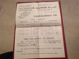 Paris Chevalières Bligne 1930 - France