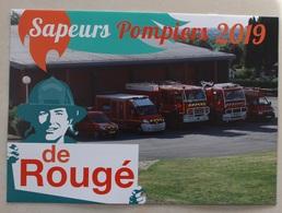 Calendrier Sapeurs Pompiers . Rougé  2019 . 44 Loire-Atlantique . Regarder La Description - Formato Piccolo : 2001-...