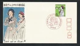 Japan 1970 Girlguides 50th Anniv. FDC  Y.T. 989 ** - FDC