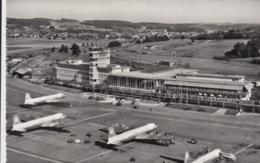 AK - Flughof Zürich - Kloten - 1956 - ZH Zürich