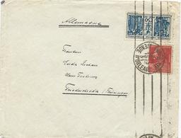LETTRE 1931 POUR L'ALLEMAGNE AVEC 2 TIMBRES TYPES EXPOSITION COLONIALE / BERTHELOT - 1921-1960: Moderne