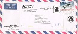 31261. Carta Aerea APIA (Western Samnoa) 1978. SAMOA Y SISIFO. Penalty For Private Use - Samoa