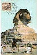 41678 Egypt,  Maximum 1910 The Sphynx, Archeology,  (see 2 Scan) - Archeologie
