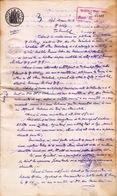 Romania, 1898, Vintage Court Decision - Revenue / Fiscal Stamp / Cinderella - Fiscaux
