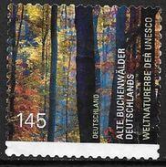 Allemagne 2014 N°2870A Oblitéré Forêt De Hêtres Patrimoine UNESCO - [7] République Fédérale