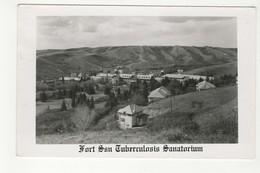 FORT SAN, Manitoba, Canada,  Tuberculosis Sanatorium, Old RPPC - Manitoba