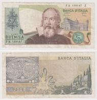 ITALIE 2 000 Lire .10 Septembre 1973 - [ 2] 1946-… : Républic