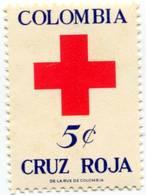Lote CR26, Colombia, 1969, Sello, Stamp, Cruz Roja, Red Cross - Colombia