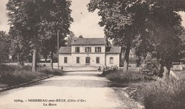 Rare Cpa  Mirebeau Sur Bèze La Gare - Mirebeau