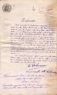 Romania, 1899, Vintage Notary Statement - Revenue / Fiscal Stamp / Cinderella - Fiscaux