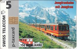 SUISSE - PHONE CARD - °TAXCARD-PRIVÉE - CHIP ***  TRAIN - ZUG - JUNGFRAUBAHN  *** - Svizzera