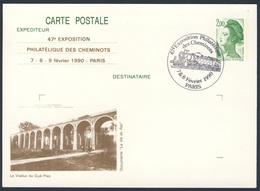 France Rep. Française 1990 Card Karte Carte - Viaduc Du Gué Plas / Bridge / Brücke - Trains