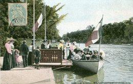 75 - PARIS - Bois De Boulogne. L'Embarcadère Pour Le Passage Dans L'Ile Nord - Parchi, Giardini