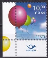 2007, EESTI, 586, Internationaler Kindertag.  MNH ** - Estonia