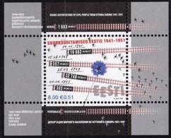 2007, EESTI, 587 Block 29, Deportationen Von Esten Nach Sibirien.  MNH ** - Estonia