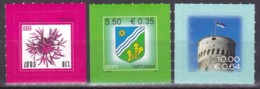 2007, EESTI, 589+90+91, Freimarken: Flockenblume,Wappen , Nationalflagge.  MNH ** - Estonia