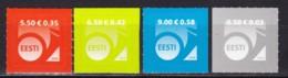 EESTI,, 2008, 600+08+13+19, Freimarke: Posthorn (Jahreszahl 2008). MNH ** - Estonia