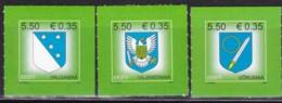 EESTI,, 2008, 603+12+25,  Freimarke: Posthorn (Jahreszahl 2008). MNH ** - Estonia