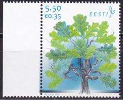EESTII, 2008, 605, 90 Jahre Republik Estland, Eiche. MNH ** - Estonia