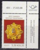 EESTII, 2008, 608, Orden. MNH ** - Estonia