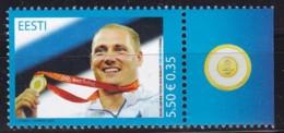 2008, EESTI, 623, Olympische Sommerspiele, Peking. MNH ** - Estonia