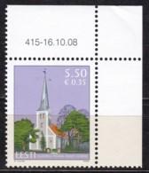 2008, EESTI, 624, Heilig-Kreuz-Kirche, Audru (Audern). MNH ** - Estonia