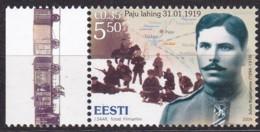 2009, EESTI, 631,, Schlacht Um Das Gut Paju. MNH ** - Estonia