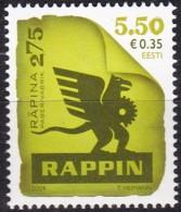 2009, EESTI, 639,, Papierfabrik Räpina (Rappin). MNH ** - Estonia