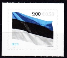 2009, EESTI, 640, 125 Jahre Estnische Flagge. MNH ** - Estonia